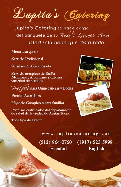 Lupitas Catering Austin Quinceanera And Wedding Caterers