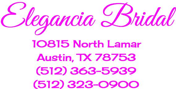 Elegancia Bridal Austin TX