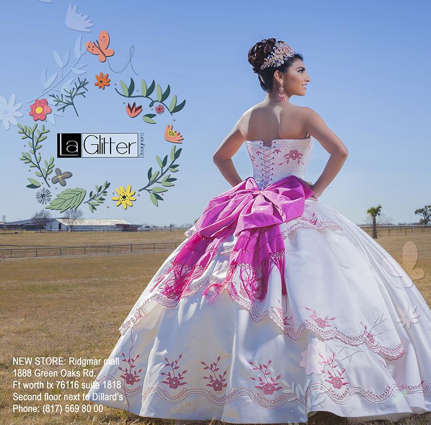 la glitter quinceanera dress austin