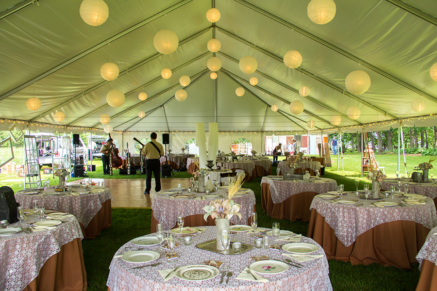 Party Rentals In Austin TX Tent Quinceanera