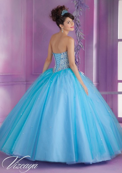 Mori Lee quinceanera dress